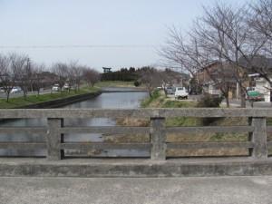 箸墓古墳から桜井駅へ