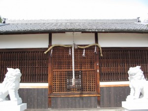 神明神社(箸墓古墳から桜井駅へ)