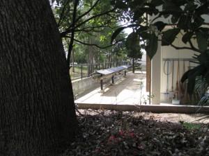 竹佐々夫江神社から山大淀公民館の裏