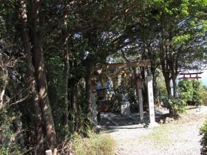 音成神社(音無山山頂)