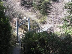 吊り橋(音無山)