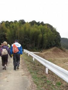 幸神社から津布良神社へ