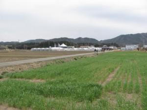 鴨下神社から奈良波良神社へ