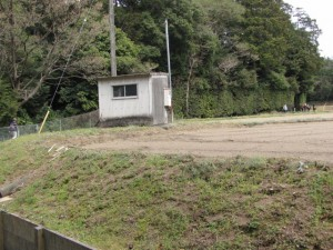 奈良波良神社付近