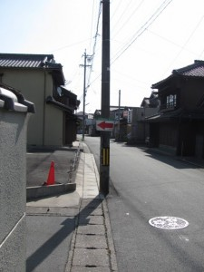 JR宮川駅~小俣神社へ