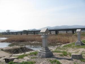 桜の渡し跡(宮川親水公園側)