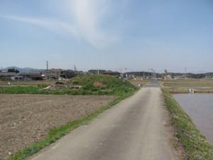 塚田古墳(田丸道遺跡付近)