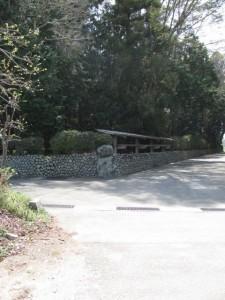 八柱神社(粟野町)付近