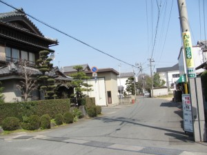 尾崎咢堂記念館付近