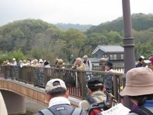講師による解説(金屋河川敷公園)