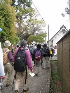 玉列神社付近