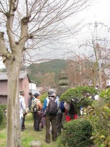 相撲開祖 野見宿禰の五輪塔
