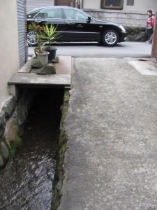 長谷山口坐神社から長谷寺参道へ