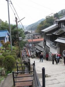 與喜天満神社の参道