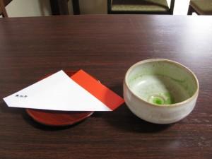 お抹茶席(長谷寺)