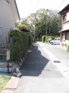 旧花街通り(神社)