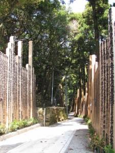 卒塔婆の供養林