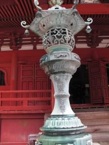 灯籠(金剛證寺)