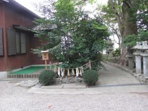 祓所(高羽江社)