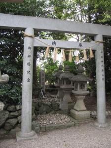 神宮遥拝所(高羽江社)