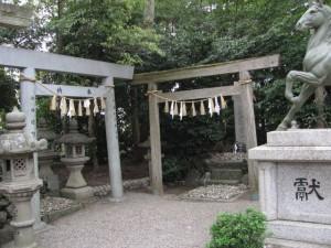 遥拝所(高羽江社)