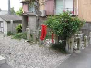 高羽江稲荷神社跡地