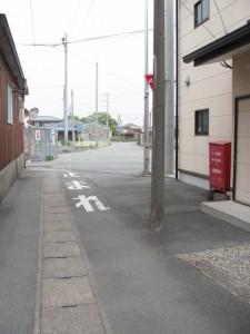高羽江稲荷神社跡地付近
