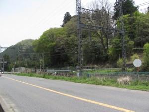 国道165号線 天満神社近く