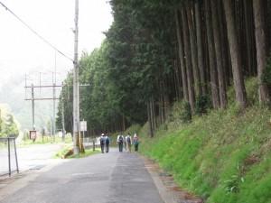 天満神社から室生湖へ