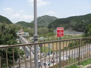 平成榛原子供のもり公園を望む