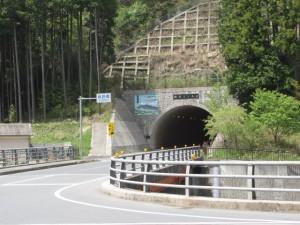 猟路橋と榛原トンネル