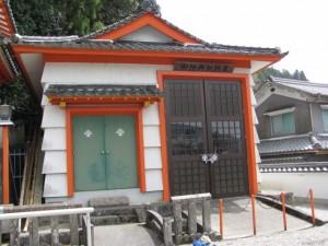 御神輿収納庫(墨坂神社)
