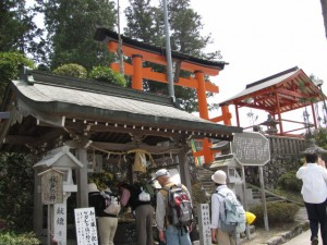 手水舎(墨坂神社)