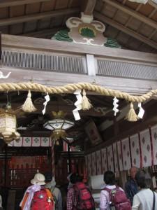 拝殿(墨坂神社)