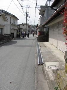 墨坂神社から榛原駅へ