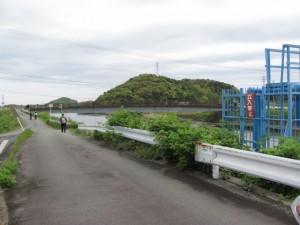 五十鈴川左岸、朝熊神社へ