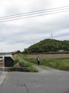 五十鈴川右岸、朝熊神社へ