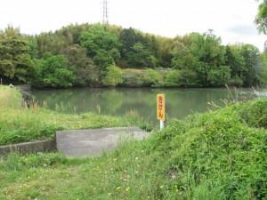 二つ池(西池)