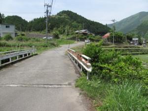 千枚田オートキャンプ場から板屋へ