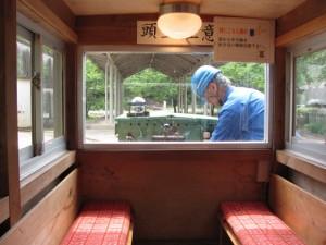 トロッコ電車(瀞流荘駅→湯ノ口温泉駅)