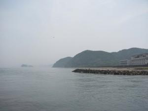 五十鈴川の河口付近
