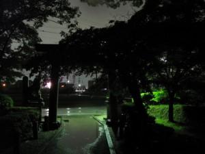 仮遷座祭(御薗神社)
