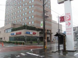 山田奉行所跡(八間道路)