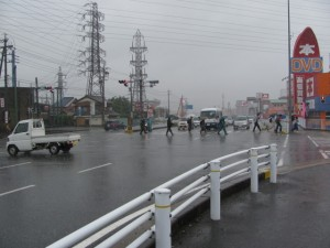 国道23号線 王中島交差点