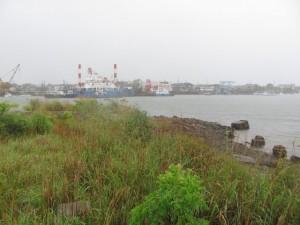 大湊の造船所