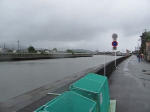 勢田川 上流へ