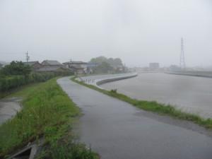 二軒茶屋餅へ(勢田川右岸)