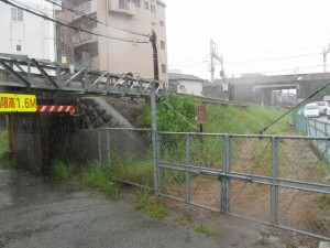 JR参宮線 吹上新道架道橋