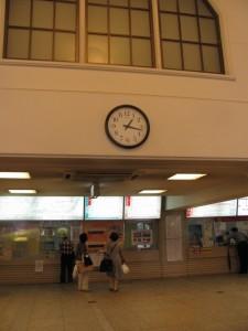 ゴール(宇治山田駅)