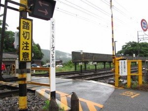 赤目口駅から八幡神社へ